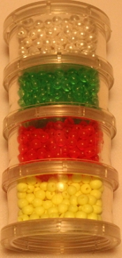 Plastic Beads - 1000 Piece Assortment