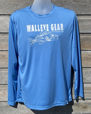 Walleye Gear Performance Long-Sleeve Unisex Shirt