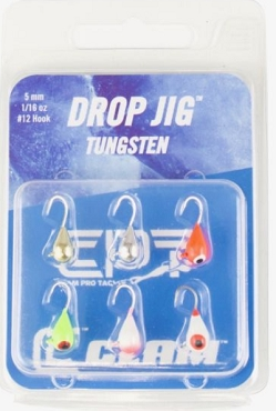 Clam Tungsten Drop Jig Kit