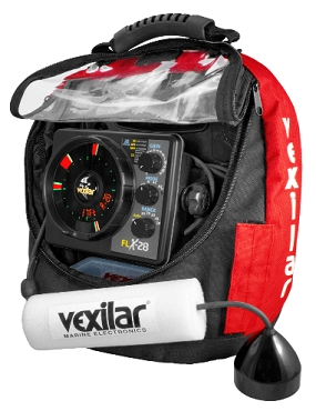 Vexilar FLX-28 Pro Pack II with ProView Ice-Ducer Combo