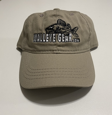 Walleye Gear.com Khaki Hat