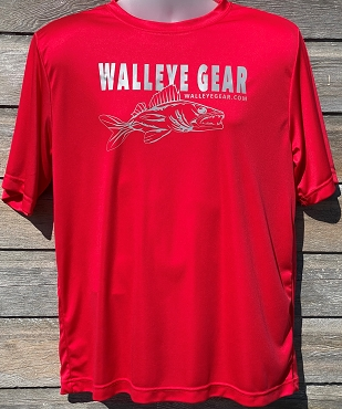 Walleye Gear Performance Short-Sleeve Unisex T-Shirt