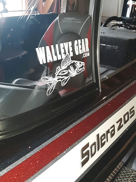 Walleye Gear Vehicle/Boat Decal