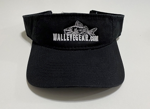 Walleye Gear Logo Visor